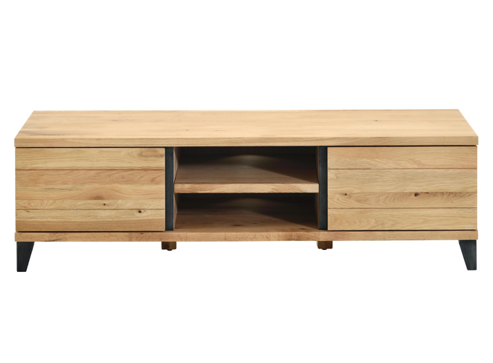 Meuble tv hifi gris/chene oak  Fly