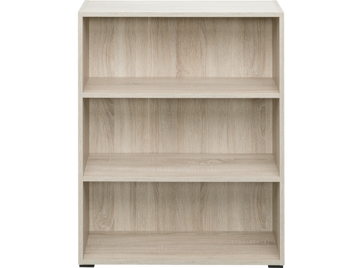 Bibliotheque 80x100x28 cm chene fly - Meuble bibliotheque fly ...