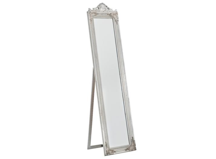 Miroir sur pied 45x180 cm argent fly for Miroir sur pied 50 cm