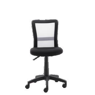 chaise de bureau sur roulettes noir/noir - fly - Fly Chaise De Bureau