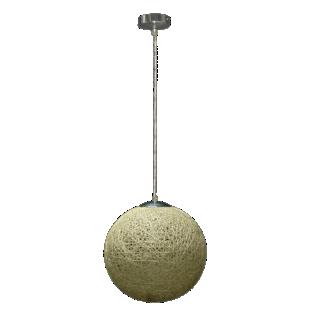 FLY-suspension boule diametre 35cm blanc