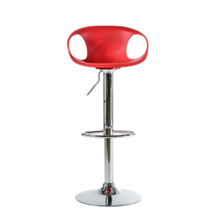 Tabouret noir fly - Tabouret bar transparent fly ...