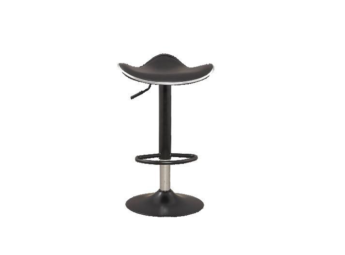 tabouret de bar noir assise noir fly. Black Bedroom Furniture Sets. Home Design Ideas