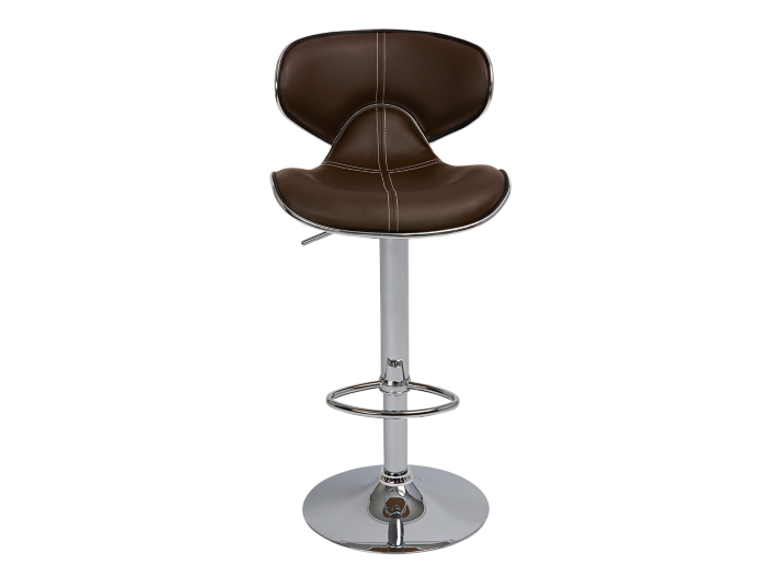 tabouret de bar assise pu choco fly. Black Bedroom Furniture Sets. Home Design Ideas