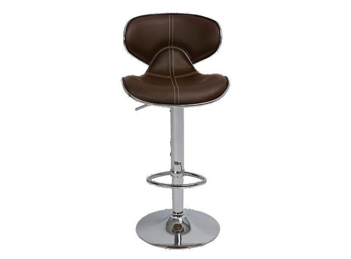 tabouret de bar assise pu choco fly. Black Bedroom Furniture Sets. Home Design Ideas