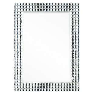 FLY-miroir 60x80 cm argent
