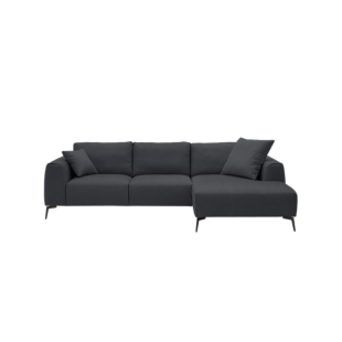 FLY-angle droit tissu anthracite