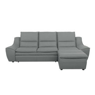 FLY-angle droit convertible tissu gris anthracite