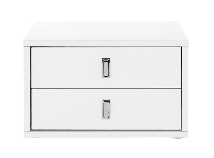 bloc bureau 2 tiroirs blanc fly. Black Bedroom Furniture Sets. Home Design Ideas
