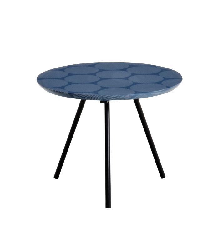 Table basse ronde bleu  Fly -> Meuble Bleu Fly