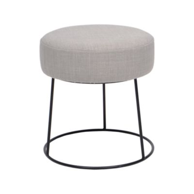 fly pouf poire pouf avec couvercle coloris gris clair. Black Bedroom Furniture Sets. Home Design Ideas