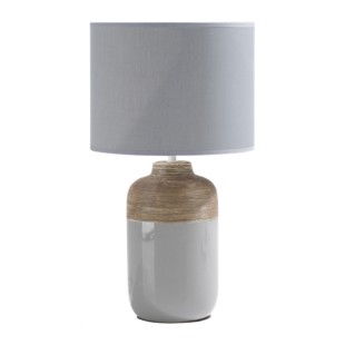 FLY-lampe h47cm gris/nature