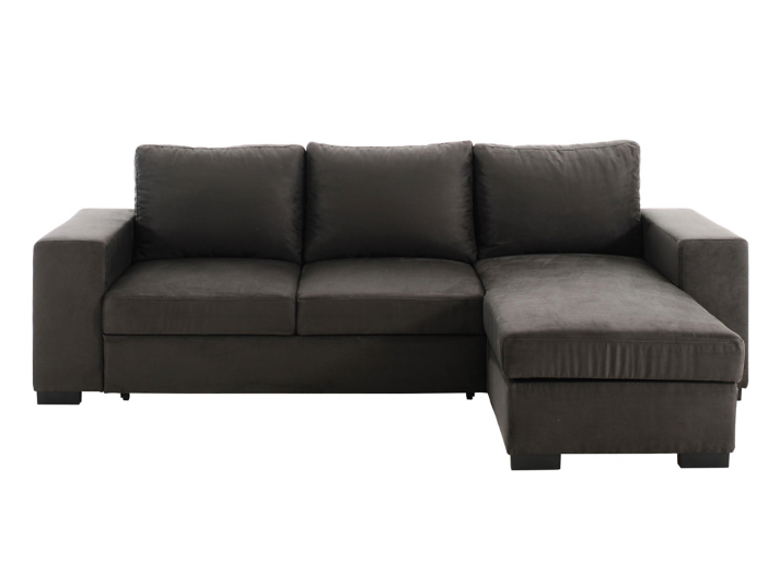canape d 39 angle conv rev microfibre anthracite fly. Black Bedroom Furniture Sets. Home Design Ideas