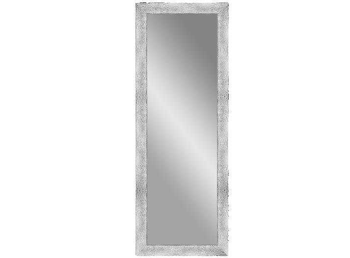Miroir 40x140cm cadre resine argent fly for Miroir fly