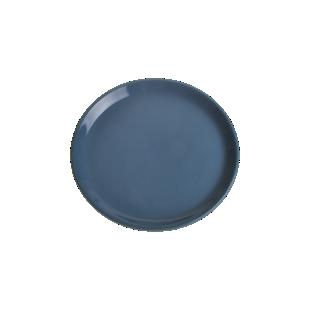 FLY-assiette plate d25.5cm bleu