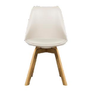 chaise tissu gris - chaise - table & chaise - meuble - fly - Chaises De Cuisine Fly
