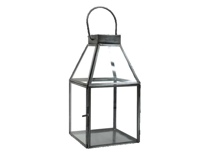 Lanterne verre metal h23cm fly - Meuble tv en verre transparent ...