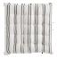FLY-galette de chaise lina coton 40x40 ivoire/noir