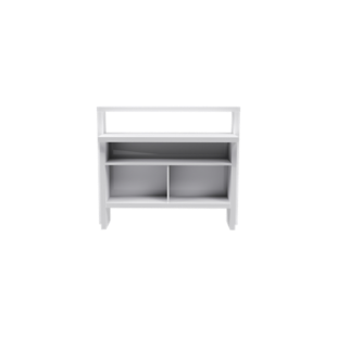 Bar etagere verre laque blanc fly - Table laque blanc fly ...
