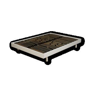 sommier en kit 90x190 cm blanc fly. Black Bedroom Furniture Sets. Home Design Ideas