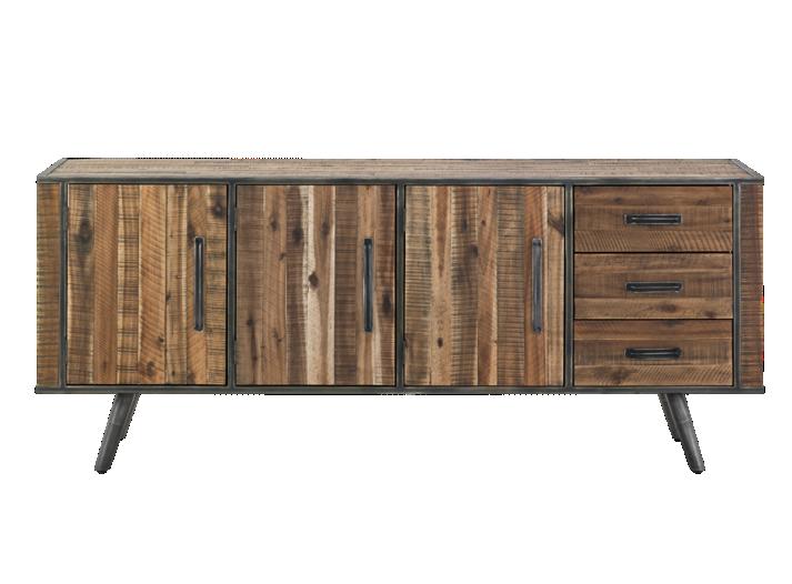 bahut acacia bahut salon s jour meuble fly. Black Bedroom Furniture Sets. Home Design Ideas
