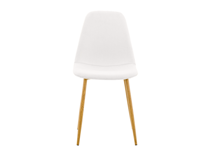 Chaise blanche fly - Table blanche fly ...