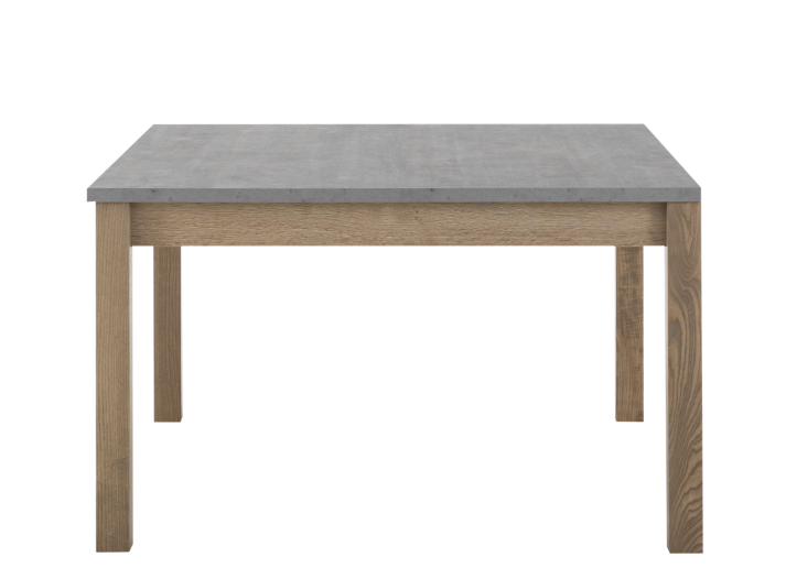 table carree avec allonge gris bois fly. Black Bedroom Furniture Sets. Home Design Ideas