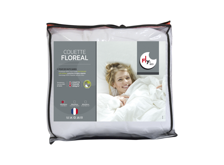 Couette anti acariens 140x200 cm fly - Couette anti acarien 140x200 ...