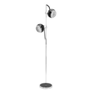 FLY-lampadaire 2l d25 noir