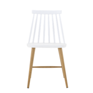 Fauteuil frene blanc transparent fly - Chaise plastique transparent fly ...