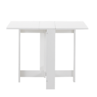 Table rectangulaire verre chene l160 fly - Table blanche fly ...