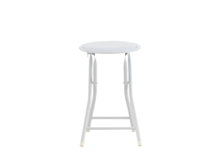Tabouret pliant blanc fly - Tabouret bar transparent fly ...