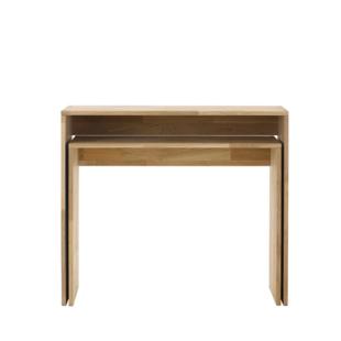 bureau l120 laque blanc fly. Black Bedroom Furniture Sets. Home Design Ideas