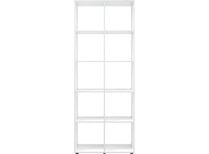 Etagere 2x5 cases blanche fly - Etagere bibliotheque fly ...