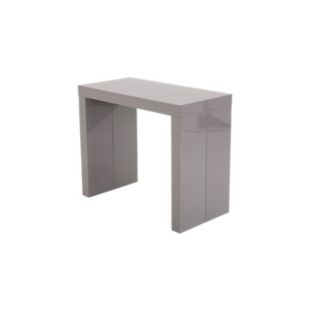 table console gris fly. Black Bedroom Furniture Sets. Home Design Ideas