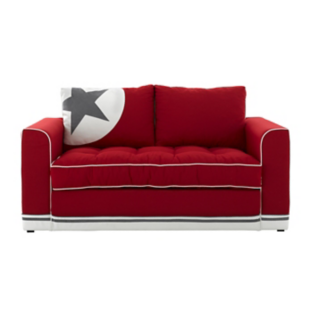 banquette type bz avec 2 coussins rouge fly. Black Bedroom Furniture Sets. Home Design Ideas