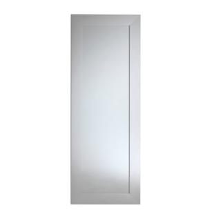 Miroir 40x140cm cadre resine argent fly for Miroir 40x140