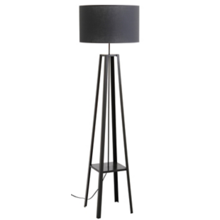 FLY-lampadaire anthracite et gris