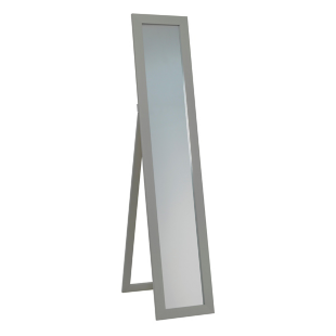 FLY-miroir psyche avec pied h150.4cm gris