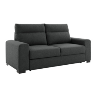FLY-canape convertible 3 places anthracite