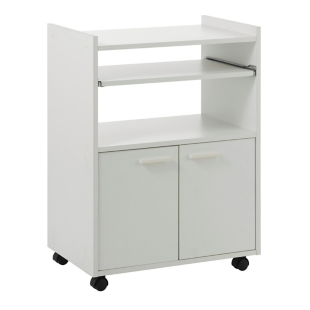 rangement 2 portes 2 tiroirs blanc fly. Black Bedroom Furniture Sets. Home Design Ideas