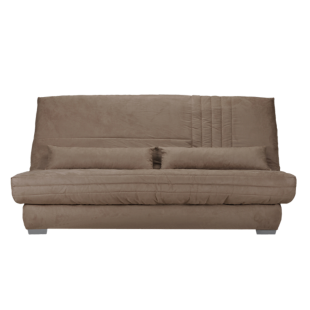 Banquette clic clac bultex gris clair anthracite fly - Matelas clic clac fly ...