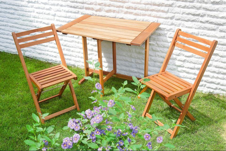 Sodo baldų komplektai