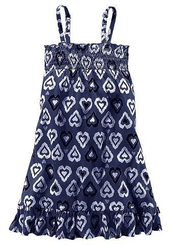 PETITE FLEUR платье из джерси с Smok д...