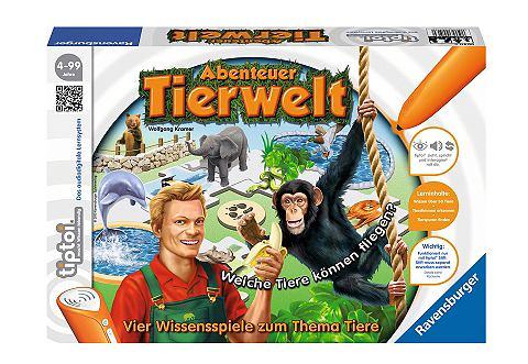 RAVENSBURGER Spiel tiptoi® »Abenteuer Tie...