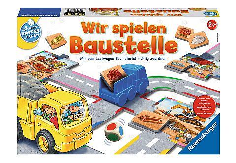 RAVENSBURGER Spiel »Wir spielen Baustelle&laq...