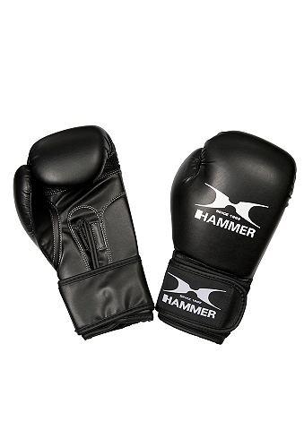 Боксерские перчатки детские PU черный ...