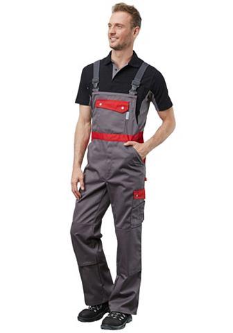 PIONIER WORKWEAR брюки с подтяжками Active Sty...
