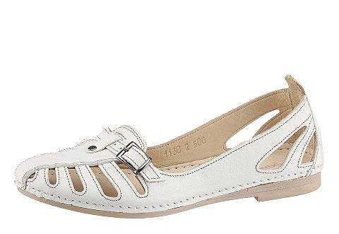 Туфли-слиперы с летний перфорирование