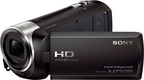 SONY HDR-CX240E Ручная камера ZEISS Широкоу...